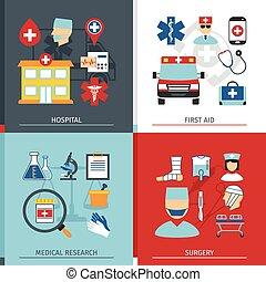 medyczne pojęcie, komplet