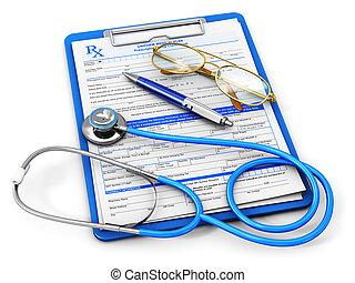 medyczne pojęcie, ubezpieczenie, healthcare