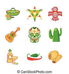 meksykanin, ikony