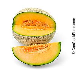 melon, kantalupa, kromki