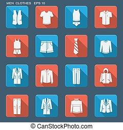 men., fason, odzież