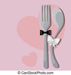menu, ślub