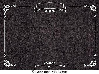 menu, backgroud, kawiarnia, tablica