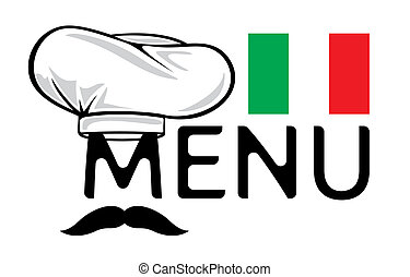 menu, projektować, włoski