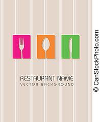 menu, wektor