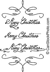 'merry, christmas', ręka, tytuł