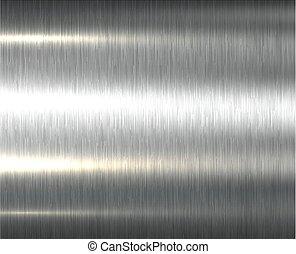 metal, tło, struktura