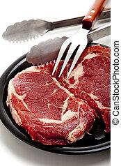 mięso, czerwony