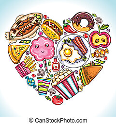 miłość, eat.