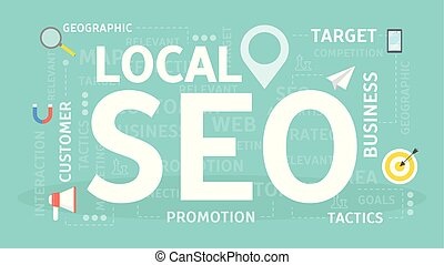 miejscowy, concept., seo