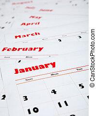 miesięcznik, kalendarze, stóg