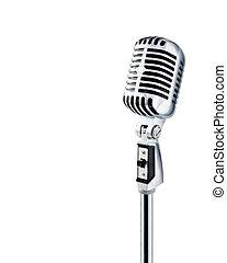 mikrofon, retro
