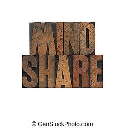 mindshare, stary, drewno, typ