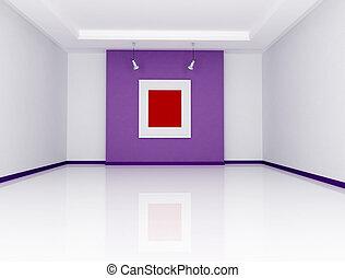 minimalista, sztuka galeria