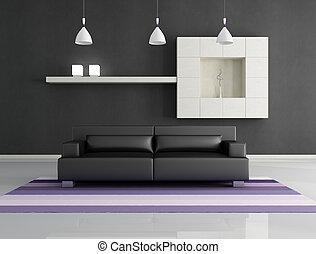 minimalista, wewnętrzny