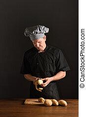 mistrz kucharski, łuszczenie, kartofle