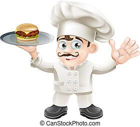 mistrz kucharski, cheeseburger
