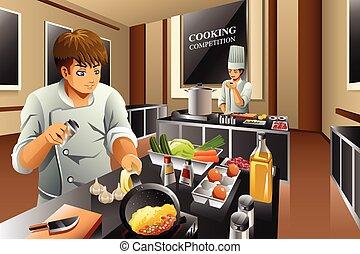 mistrz kucharski, gotowanie, współzawodnictwo