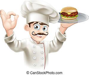 mistrz kucharski, hamburger