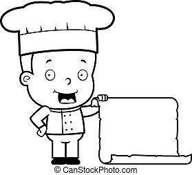 mistrz kucharski, menu, dziecko
