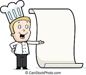 mistrz kucharski, menu