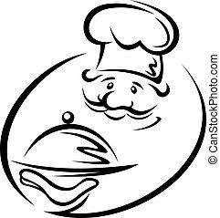 mistrz kucharski, taca