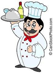 mistrz kucharski, wino, mąka, dzierżawa, rysunek