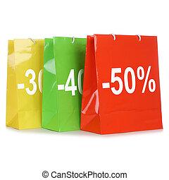 mnóstwo, zakupy, oferta, sprzedaż, dyskon, podczas, albo, szczególny