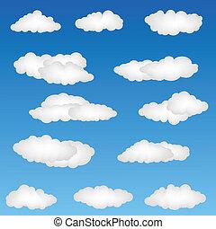 modeluje, chmura