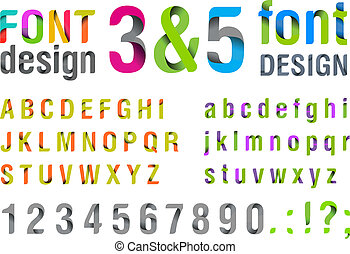 modny, górny, new., font.