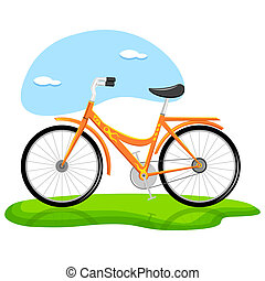 modny, rower