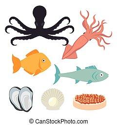 morze, gastronomia, jadło