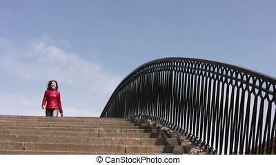most, dziewczyna
