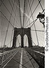 most, miasto, york, nowy, brooklyn