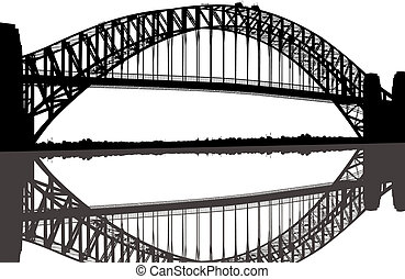 most, sylwetka, sydney ukryją