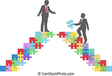 most, wstąpić, handlowy zaludniają, zagadka, połączyć