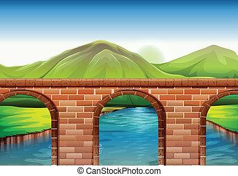 most, wszerz, góry