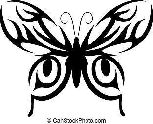 motyl, capstrzyk