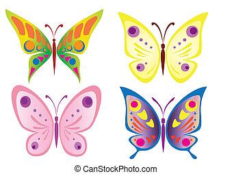 motyl, piękny