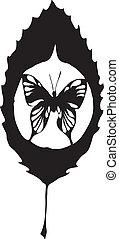 motyl, pozwolenie, robiony, eps