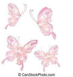 motyl, przelotny, sztuka