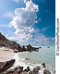 motyw morski, zatoka, tajlandia
