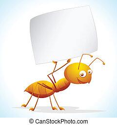 mrówka, plakat