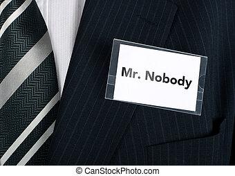 mr., nikt