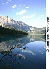 mtn, jezioro, cichy