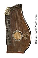 muzyczny, niemiec, instrument, tradycyjny