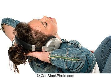 muzyka, cieszący się