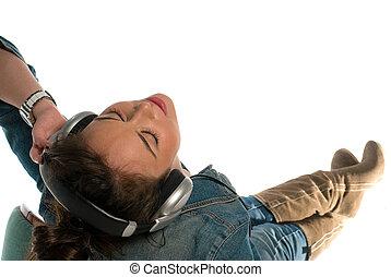 muzyka, mój, kłosie