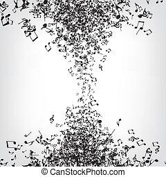 muzyka, struktura, notatki