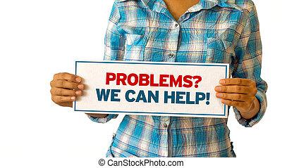 my, problemy, może, pomoc